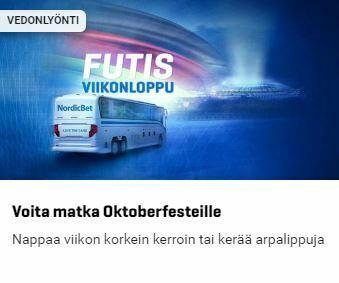 NordicBet - Voita matka Oktoberfesteille