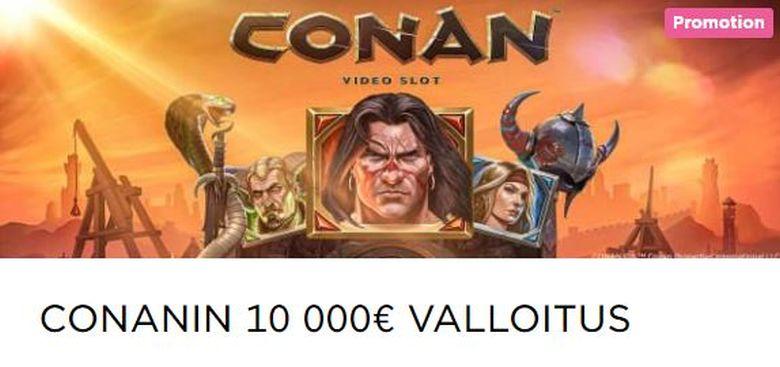 Mr Green - uusi kolikkopeli Conan