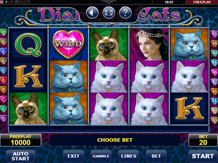 diamond cats iframe