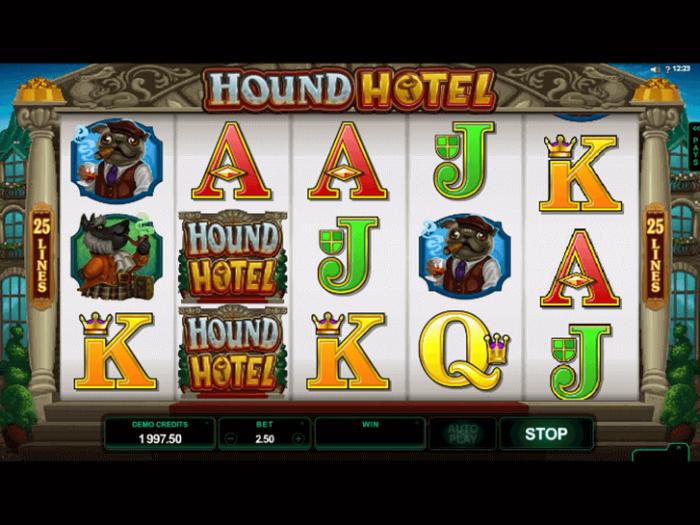 Hound Hotel iframe