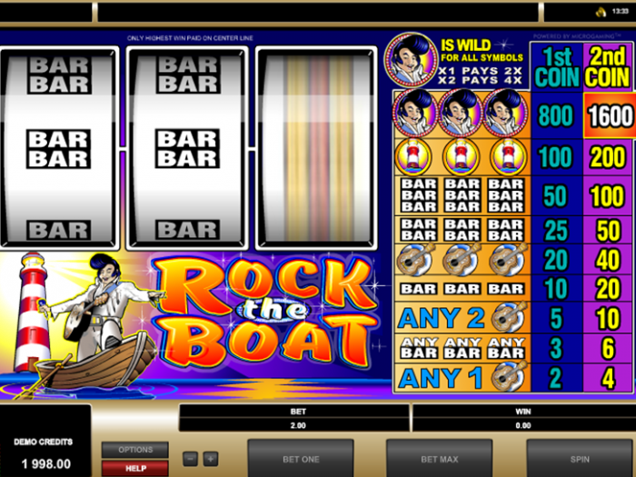 Rock The Boat iframe