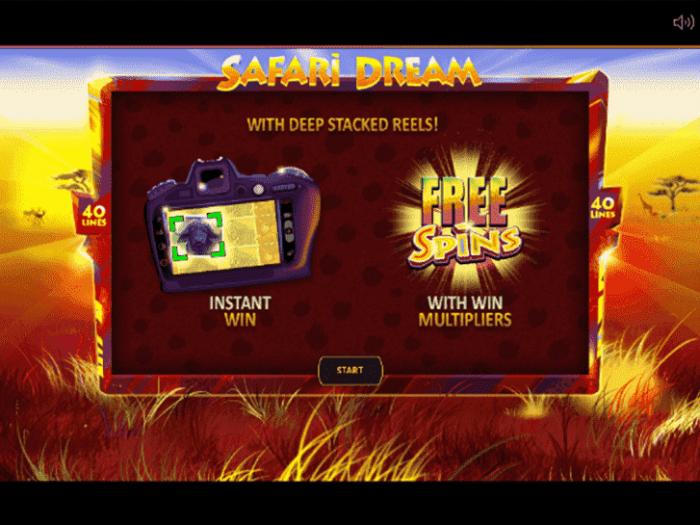 Safari Dream iframe