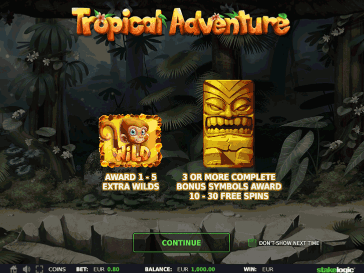 tropical adventure iframe