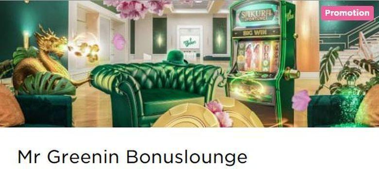Mr Green - Bonuslounge