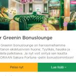 Mr Green - Bonuslounge