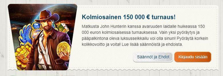 Suomiautomaatti - 150 000 euron kisa