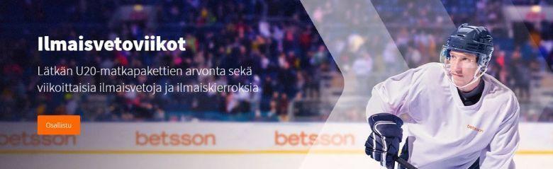 Betsson - Lätkän U20-matkapaketti