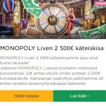 Mr Green ja Monopoly Liven kisa