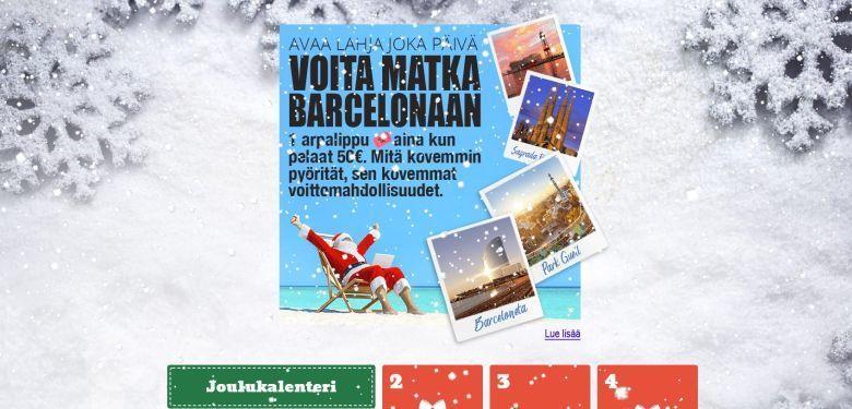 Karjala Kasino - joulukalenteri