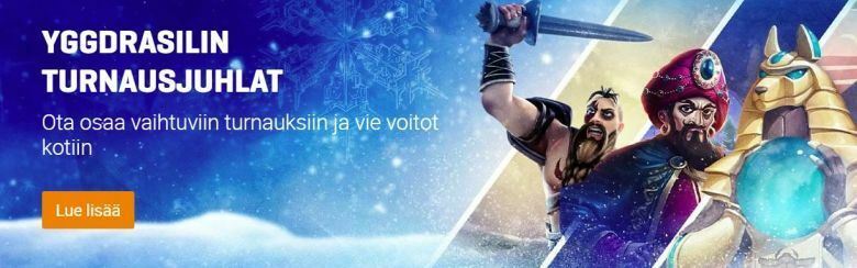 NordicBet - turnausjuhlat
